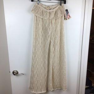 Elan | NWT Beach Coverup Crochet Pants